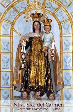 Ntra. Sra. del Carmen. Carmelitas Descalzos - Bilbao