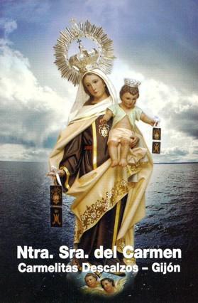 Ntra. Sra. del Carmen. Carmelitas Descalzos. Gijón