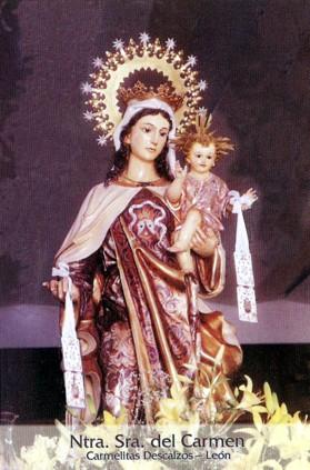 Ntra. Sra. del Carmen. Carmelitas Descalzos. León