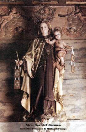 Ntra. Sra. del Carmen. Carmelitas Descalzos de Medina del Campo
