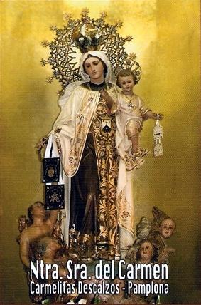 Ntra. Sra. del Carmen. Carmelitas Desclazos - Pamplona